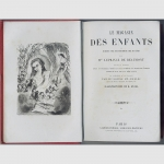 Beaumont / Staal - Le magasin des enfants. Illustriertes Kinderbuch 1865