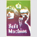 Soft Machine - Psychedelic Pur. Absolut seltenes Originalposter um 1969/70.